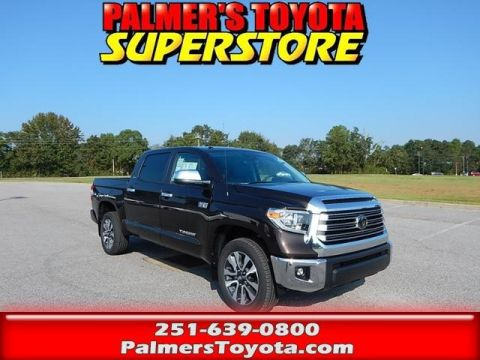 New 2018 Toyota Tundra Limited 4D CrewMax