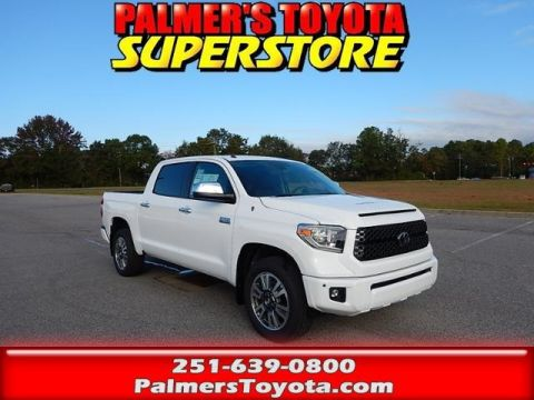 New 2018 Toyota Tundra Platinum 4D CrewMax With Navigation