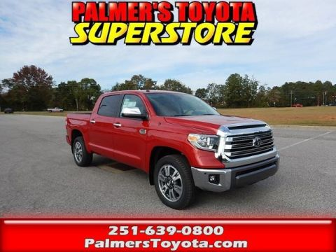 New 2018 Toyota Tundra 1794 4D CrewMax With Navigation