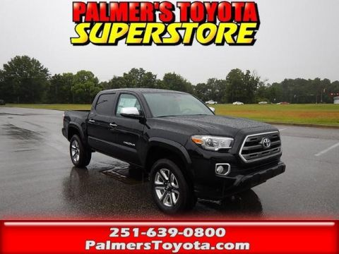 New 2017 Toyota Tacoma Limited 4D Double Cab 4WD
