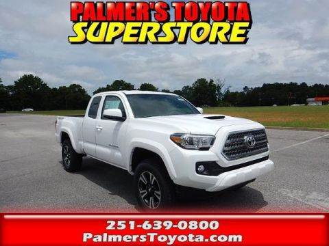 New 2017 Toyota Tacoma TRD Sport 4D Access Cab 4WD