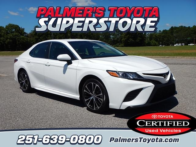 Certified Used Toyota >> Certified Pre Owned 2018 Toyota Camry Fwd 4d Sedan