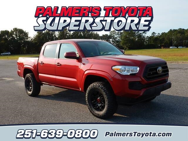 New 2020 Toyota Tacoma SR SR Double Cab 5' Bed I4 AT (Natl)