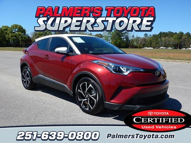 Toyota Certified Pre Owned >> Certified Pre Owned 2018 Toyota C Hr Xle 4d Sport Utility In Mobile