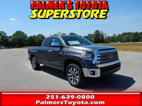 New 2018 Toyota Tundra Limited 4D Double Cab With Navigation & 4WD