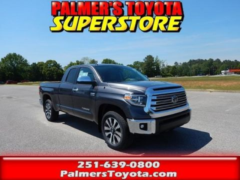 New 2018 Toyota Tundra Limited 4D Double Cab With Navigation