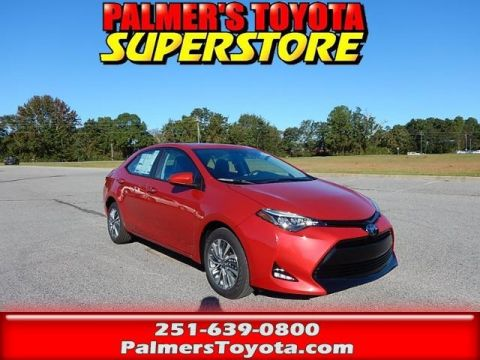 New 2018 Toyota Corolla XLE 4D Sedan