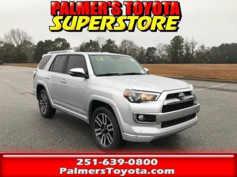 New 2018 Toyota 4Runner Limited 4D Sport Utility